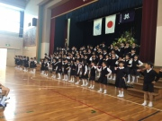 小学生入学式